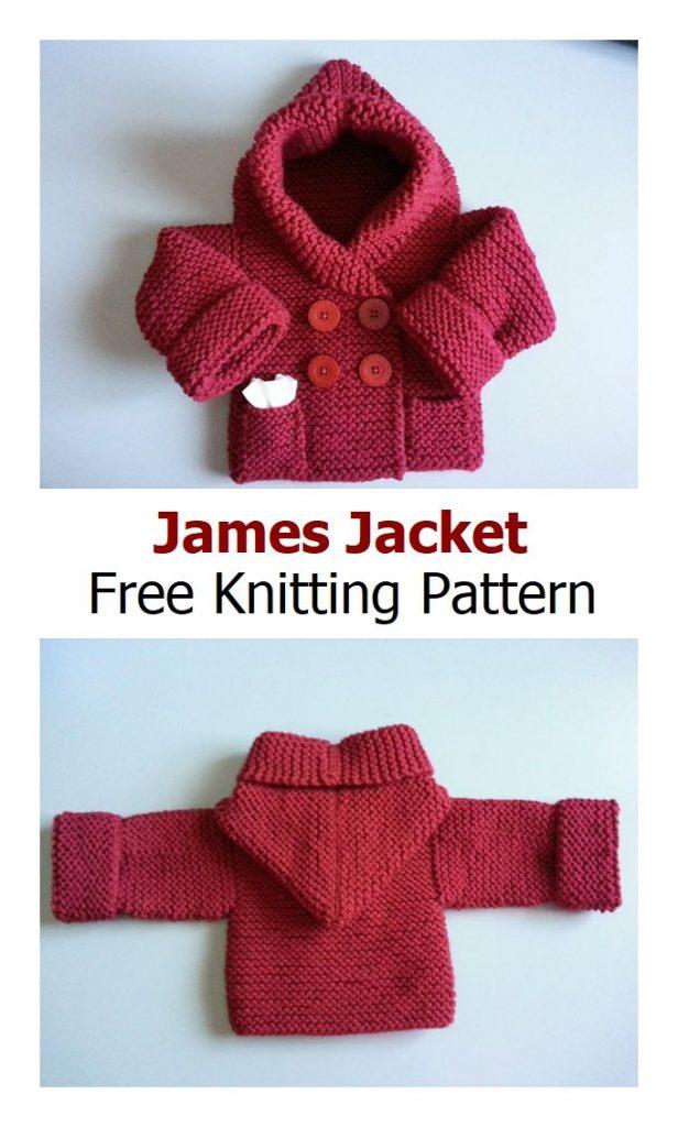 James Jacket Free Knitting Pattern