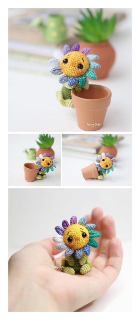 Little Flower Free Crochet Pattern