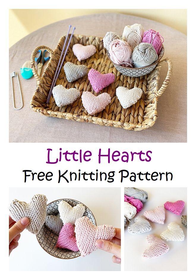 Little Heart Free Knitting Pattern
