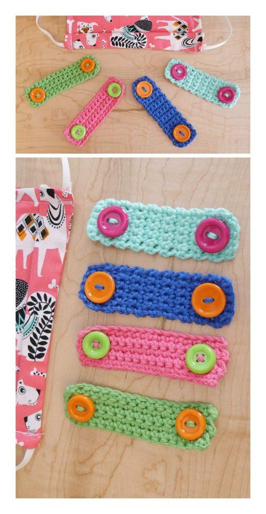 Mask Helpers Two Ways Free Crochet Pattern