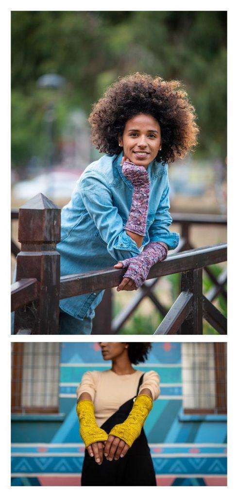 Mucha Mittens Free Knitting Pattern