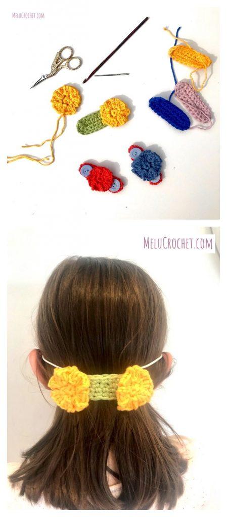 No Button Ear Saver Free Crochet Pattern