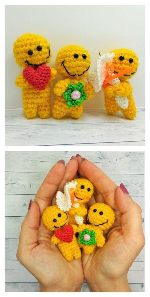 Positive Yellow Free Amigurumi Pattern