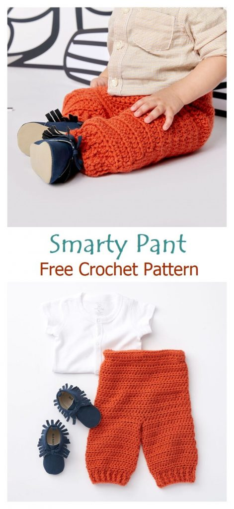 Smarty Pants Free Crochet Pattern
