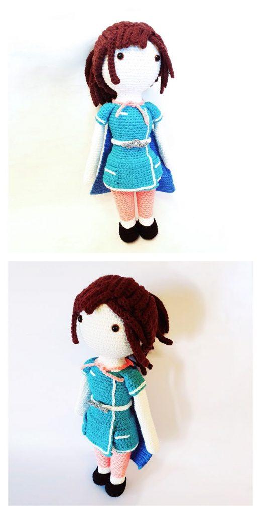 Super Nurse Free Crochet Pattern