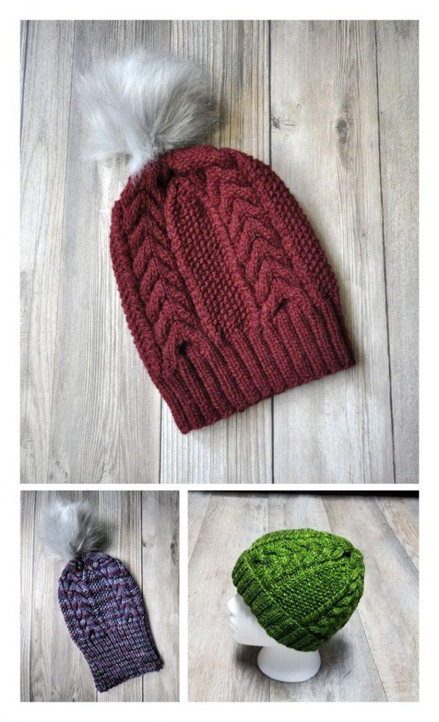 Tonidale Hat Free Knitting Pattern