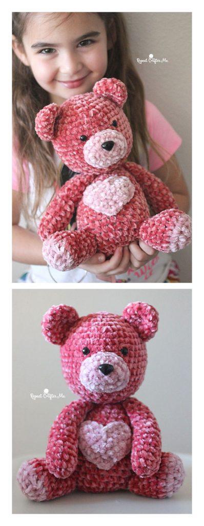 Velvet Bear Free Crochet Pattern