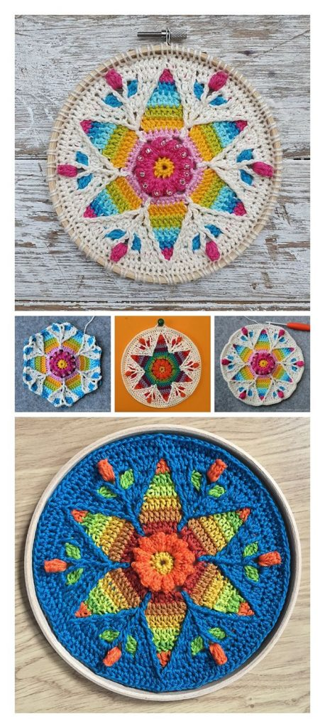 Fancy Nancy Mandala Free Crochet Pattern