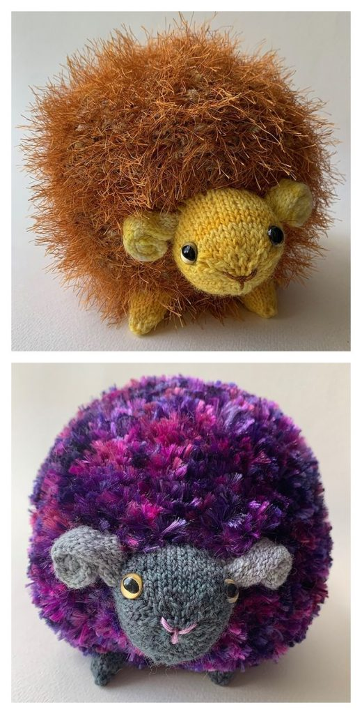Friendsheep Free Knitting Pattern