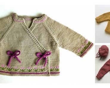 Glückskind Cardigan Free Knitting Pattern