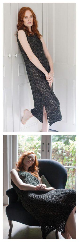 Johanna Dress Free Knitting Pattern
