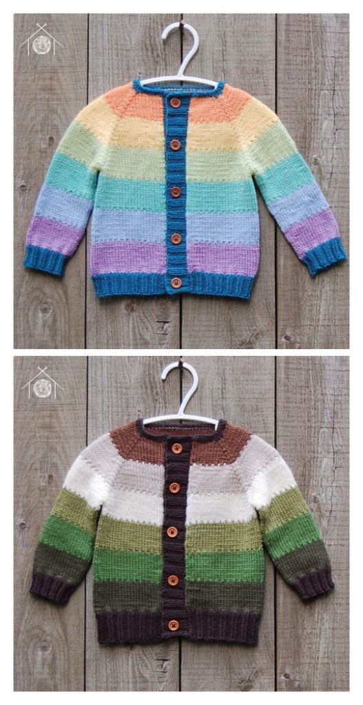 Melville Cardigan Free Knitting Pattern