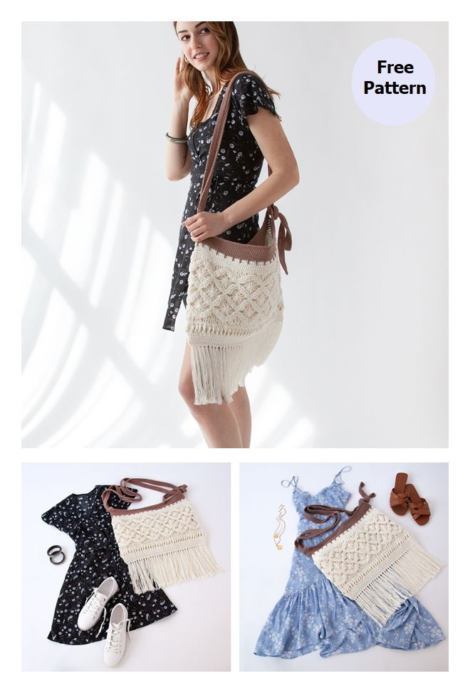 Mock-rame Bag Free Crochet Pattern