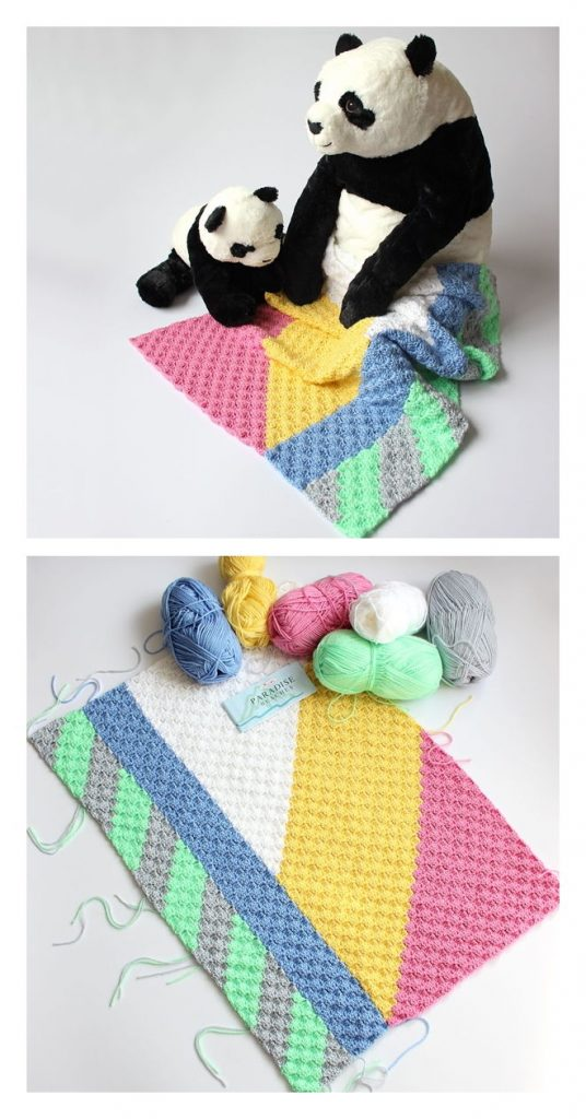 Striped Out Baby Blanket Pattern