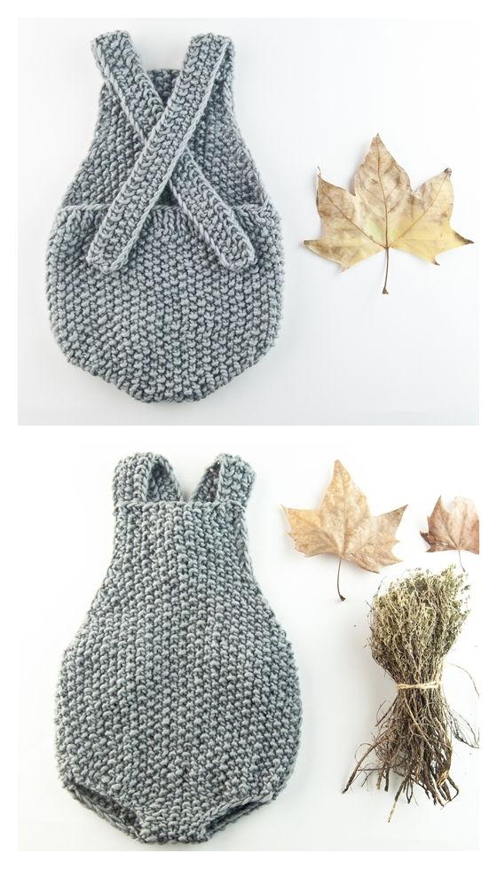 Wilson Onesie Free Knitting Pattern