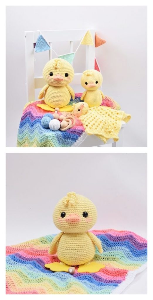 Alfred the Duck Free Amigurumi Pattern