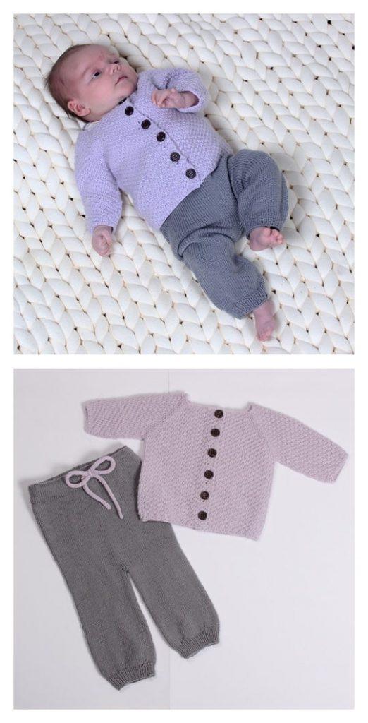 Baby Trousers Free Knitting Pattern
