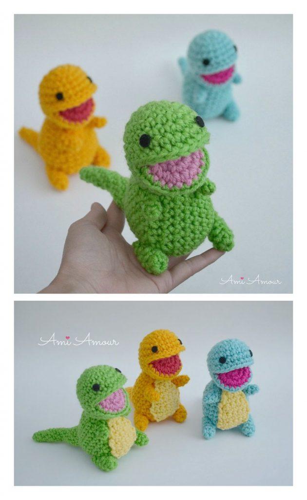 Baby Dinosaur Free Amigurumi Pattern
