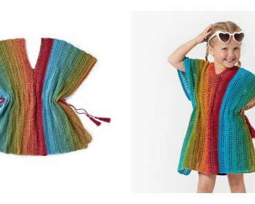 Beach Girl Cover Up Free Crochet Pattern