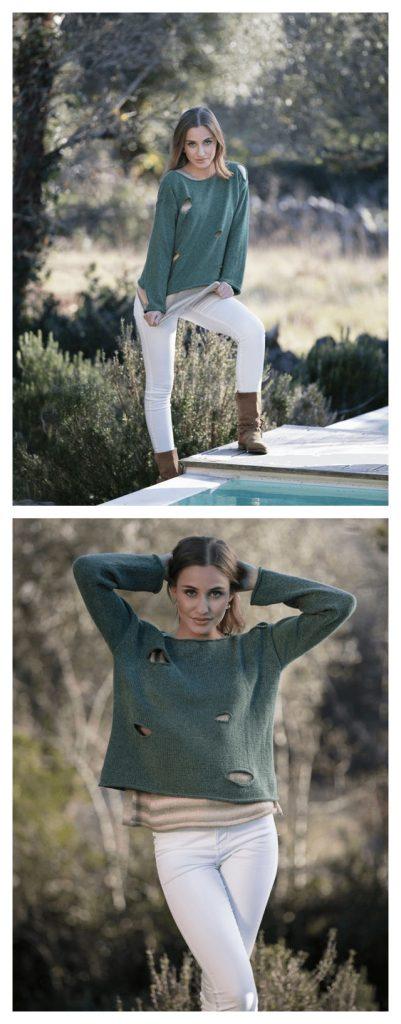 Belmonte Sweater Free Knitting Pattern