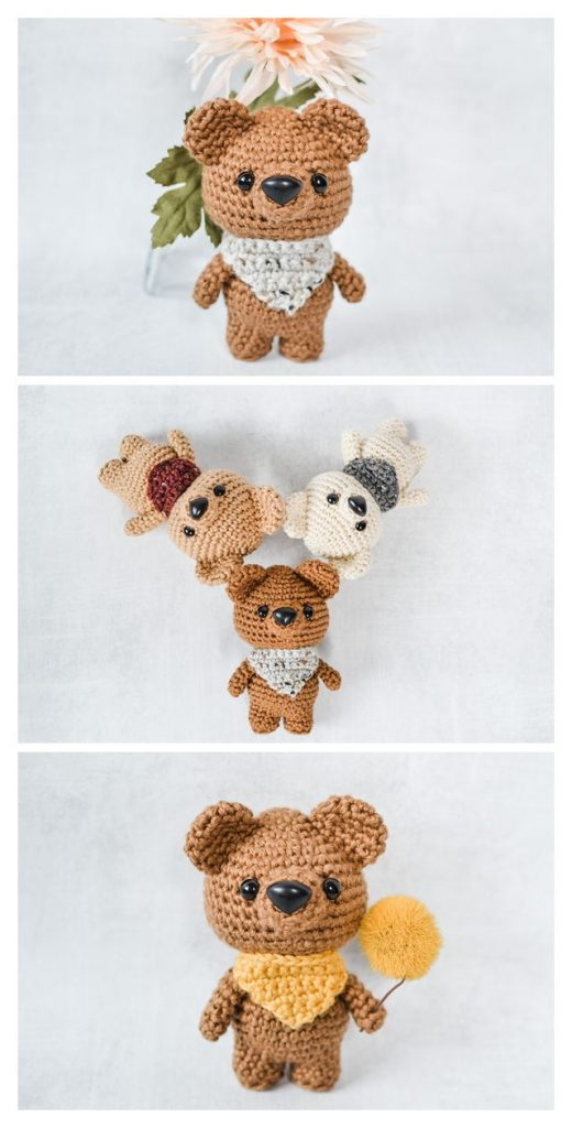 Briggs The Bear Free Amigurumi Pattern