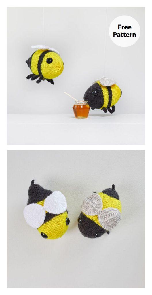 Buz and Belinda Bumblebees Pattern