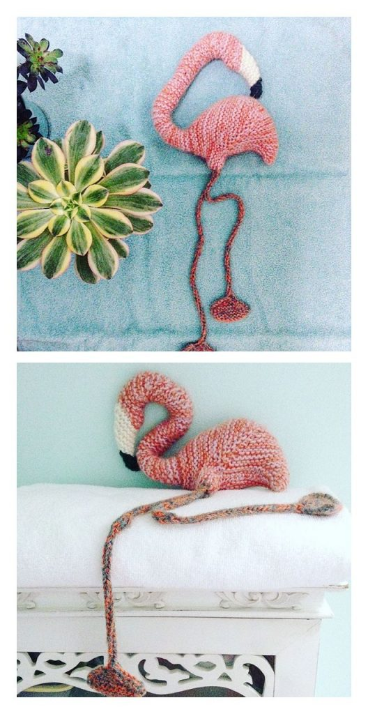 Flamingo Free Knitting Pattern