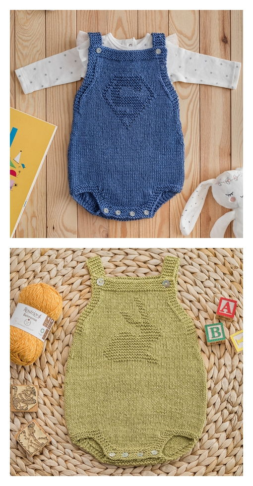 Fofo Onesie Free Knitting Pattern