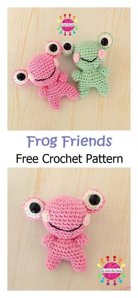 Frog Friend Free Amigurumi Pattern