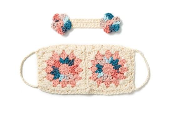 Funky Ear Saver Free Crochet Pattern