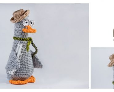 Olga Lukoshkina - Crochet Toys Basket - Laydiy | 297x370