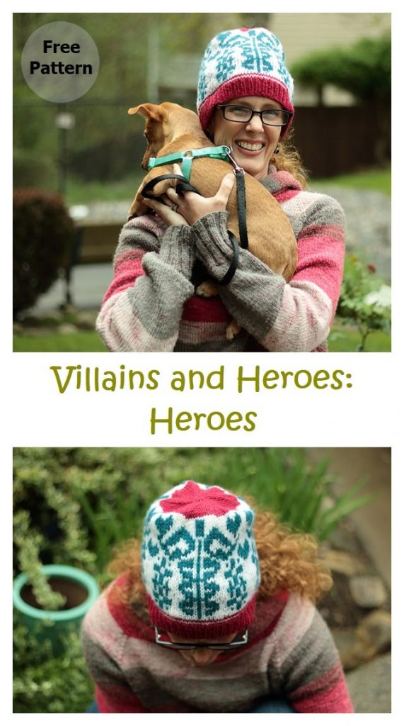 Villains and Heroes: Heroes Free Knitting Pattern