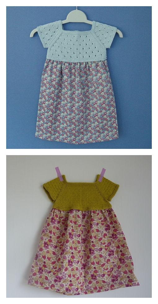 Liberty Dress Free Knitting Pattern