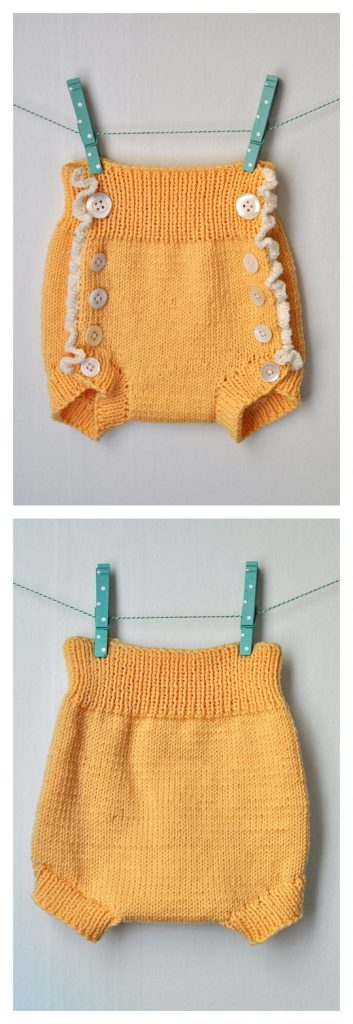 Diaper Cover Free Knitting Pattern