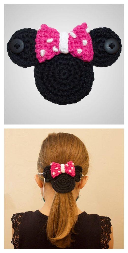 Mouse Mask Mates Free Crochet Pattern