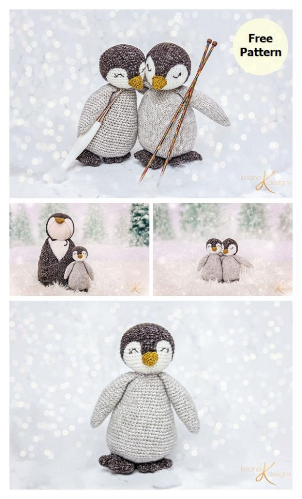 Penguin Buddy Free Amigurumi Pattern