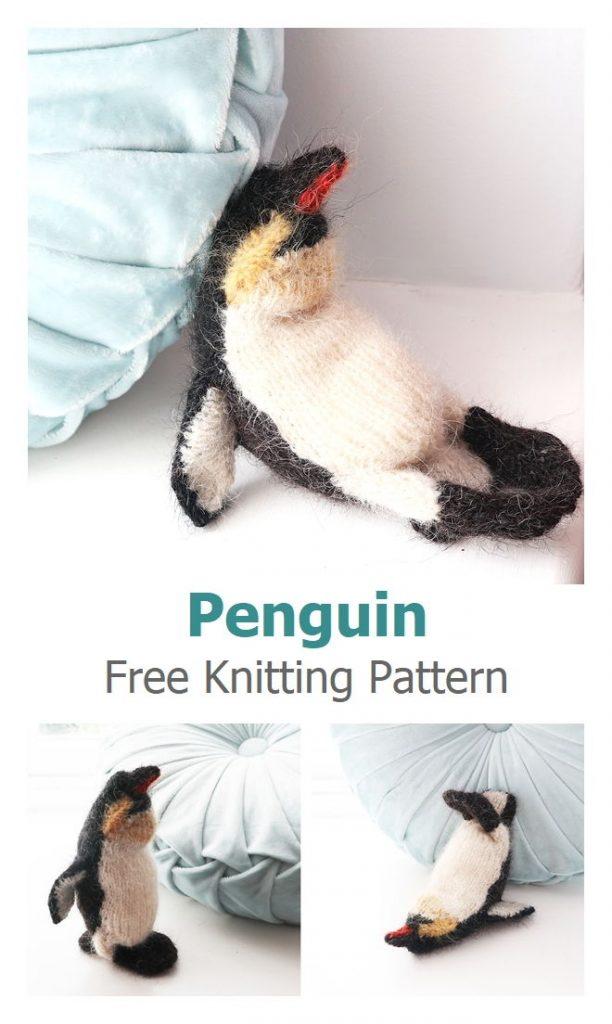 Penguin Free Knitting Pattern