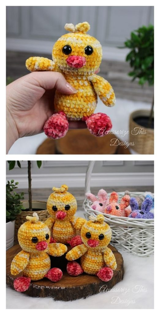 Pocket Pal Baby Chick Pattern