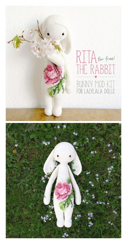 RITA the Rabbit Free Amigurumi Pattern