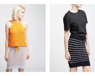 Riviera Skirt Free Knitting Pattern