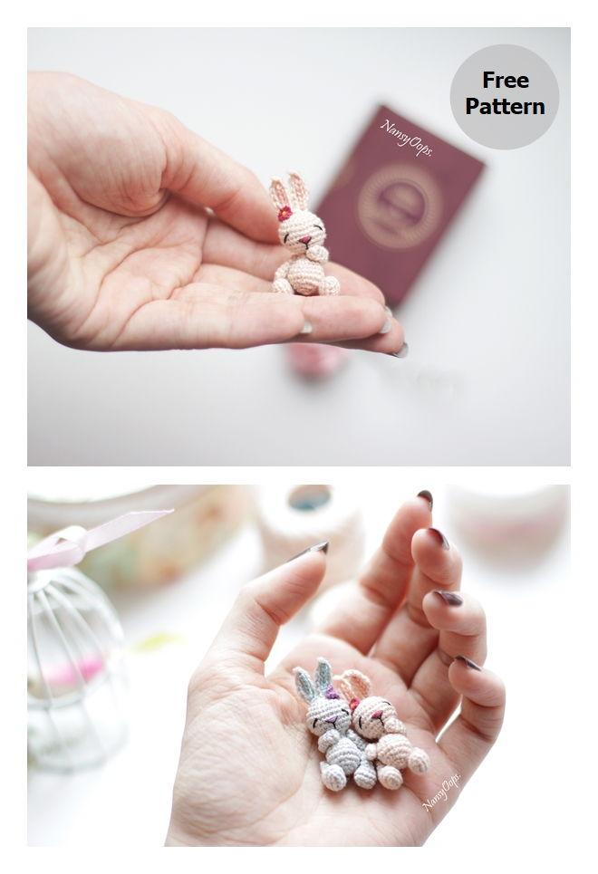 Tiny Bunny Free Amigurumi Pattern