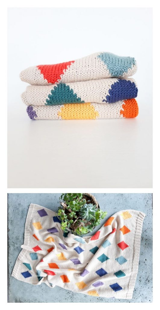 Victoria Baby Blanket Free Knitting Pattern