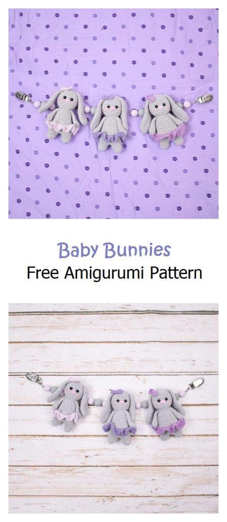 Baby Bunnies Free Amigurumi Pattern