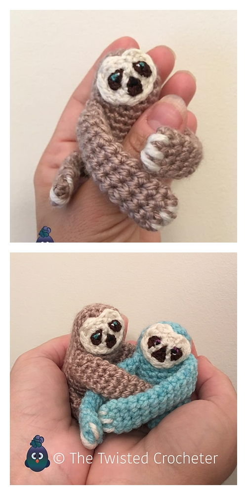 Sloth Crochet Patterns - the best free sloth crochet patterns to ... | 1000x500