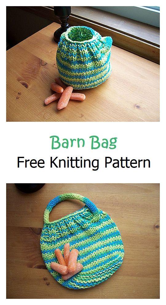 Barn Bag Free Knitting Pattern