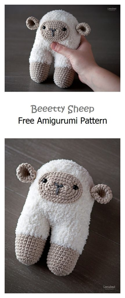 Beeetty Sheep Free Amigurumi Pattern