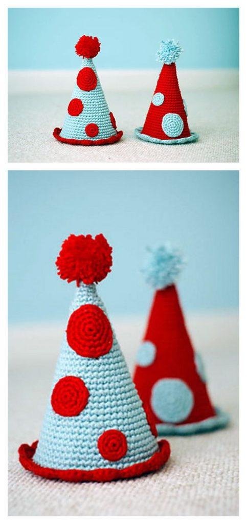 Celebrate Hat Free Crochet Pattern