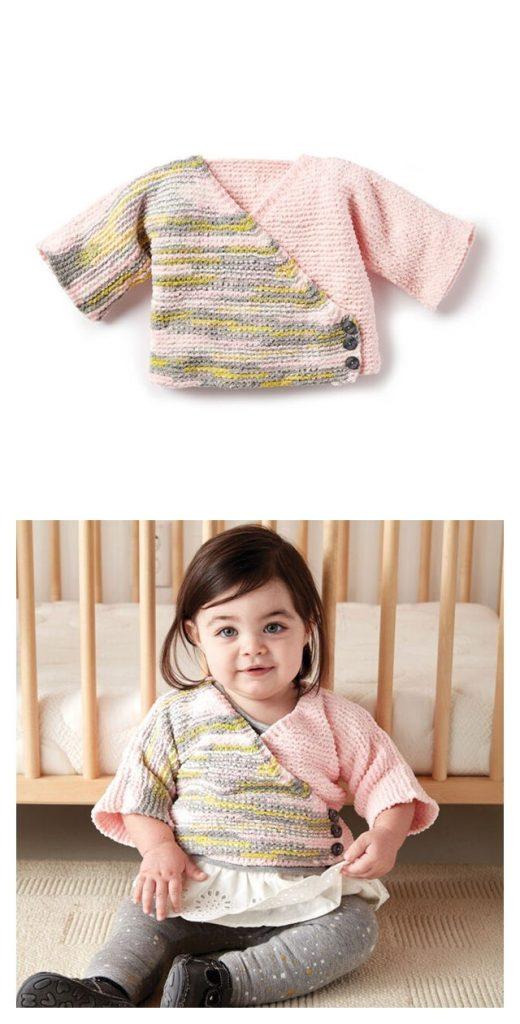 Colorblock Kimono Cardigan Pattern