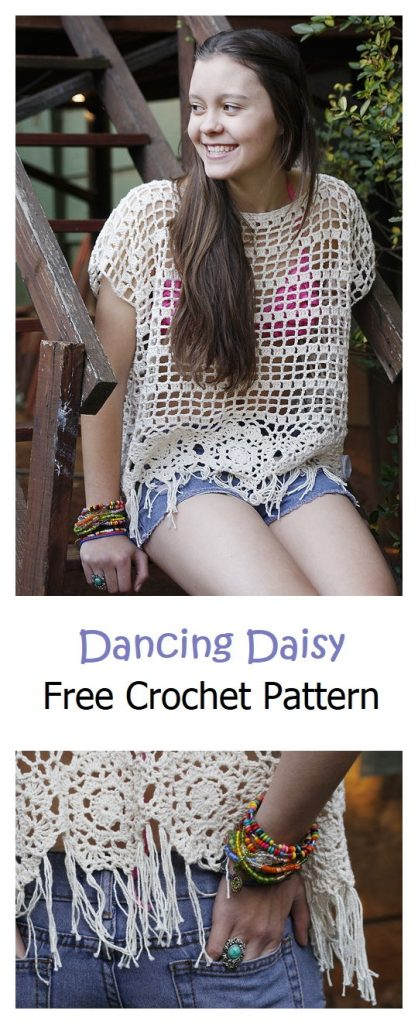 Dancing Daisy Free Crochet Pattern
