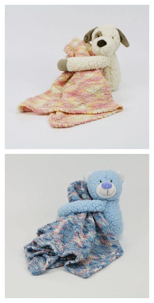 Diamond Baby Blanket Free Knitting Pattern